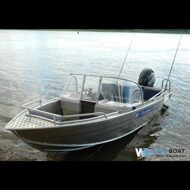 моторная лодка Wyatboat-430 DCM