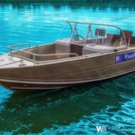 моторная лодка Wyatboat-460 DCM